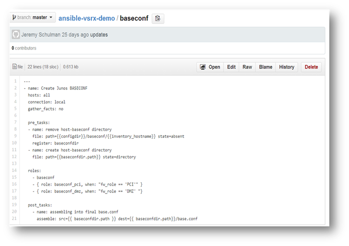 Ansible for Networking | Jason Edelman's Blog