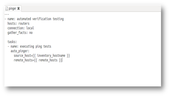 Network Test Automation with Ansible | Jason Edelman's Blog